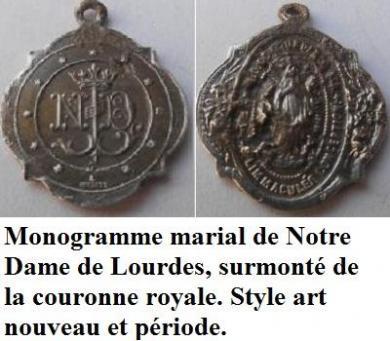 4 Médailles fin XIXème N_d_de12