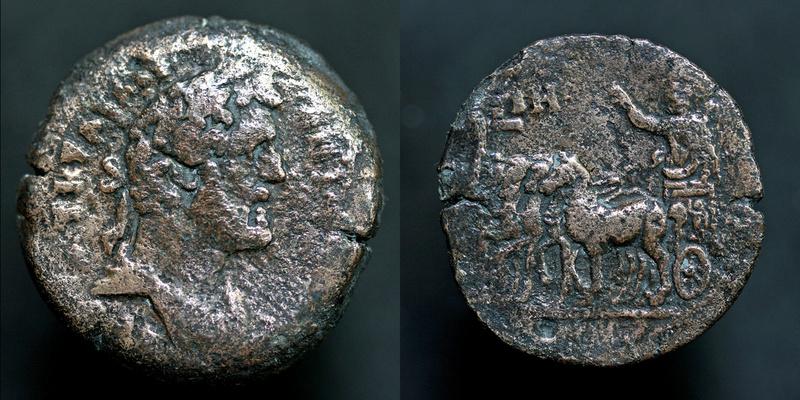 Drachme d'Antoninus Pius  Antoni14
