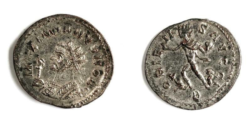 Aureliani de Lyon de Dioclétien et de ses corégents Galere10
