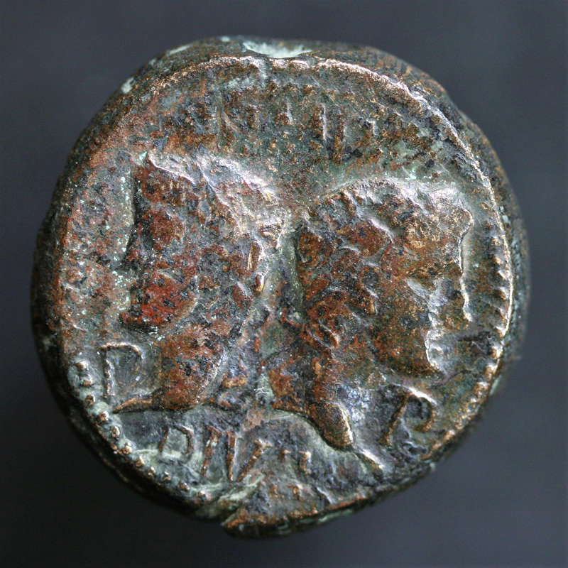 Un dupondius de Nîmes plus que poids lourd !!!! Img_4911