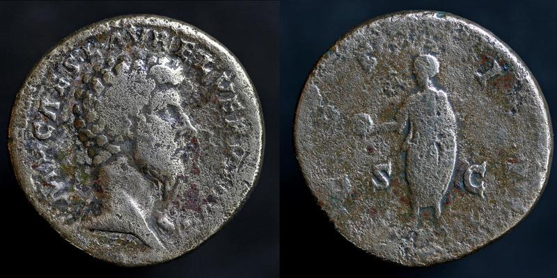 Sesterce de Lucius Verus Lucius10