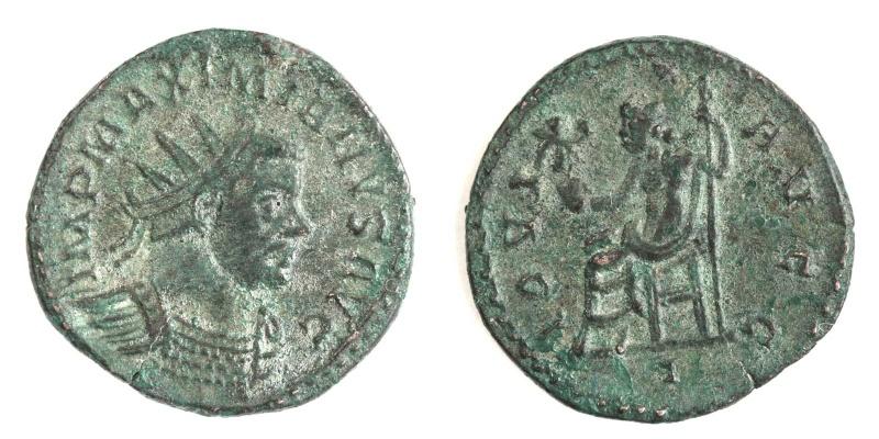 Aureliani de Lyon de Dioclétien et de ses corégents - Page 2 Maximi12