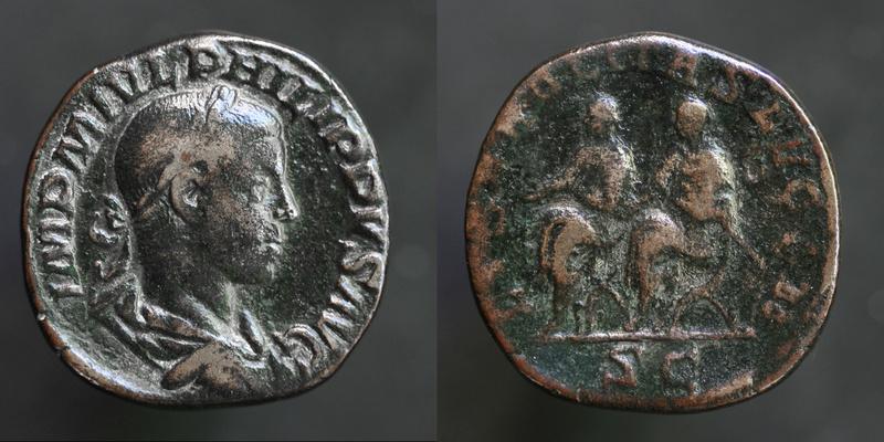 Sesterce de Philippe II Philip18