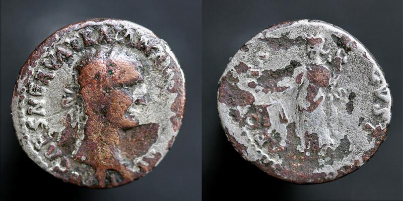 Une ragnole de TRAJAN archi fourrée imitation, mais de quoi? Trajan22