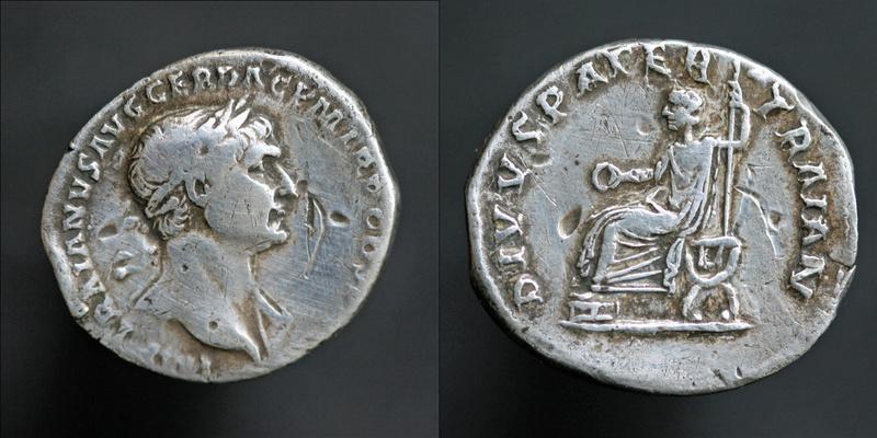 Une ragnole de TRAJAN archi fourrée imitation, mais de quoi? Trajan24