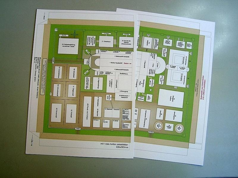 Monasterium Sancti Galli - Hans-Joachim Zimmer - 1:800 110