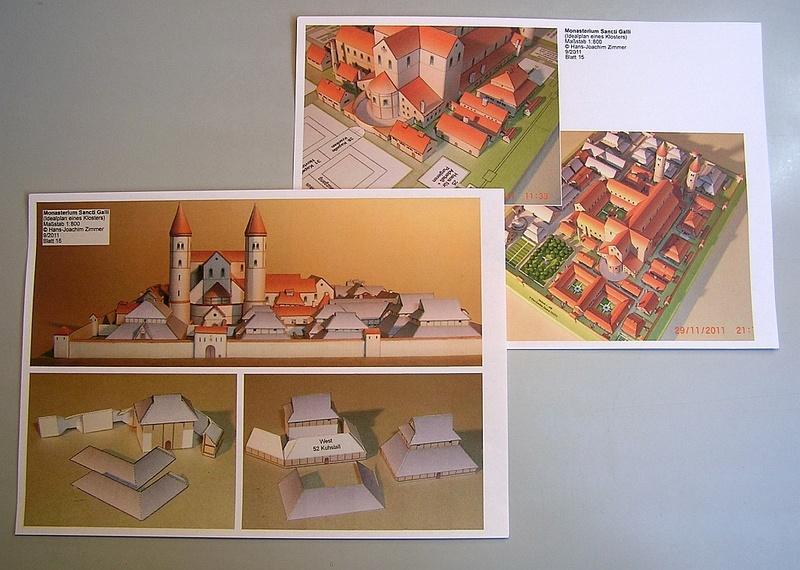 Monasterium Sancti Galli - Hans-Joachim Zimmer - 1:800 210