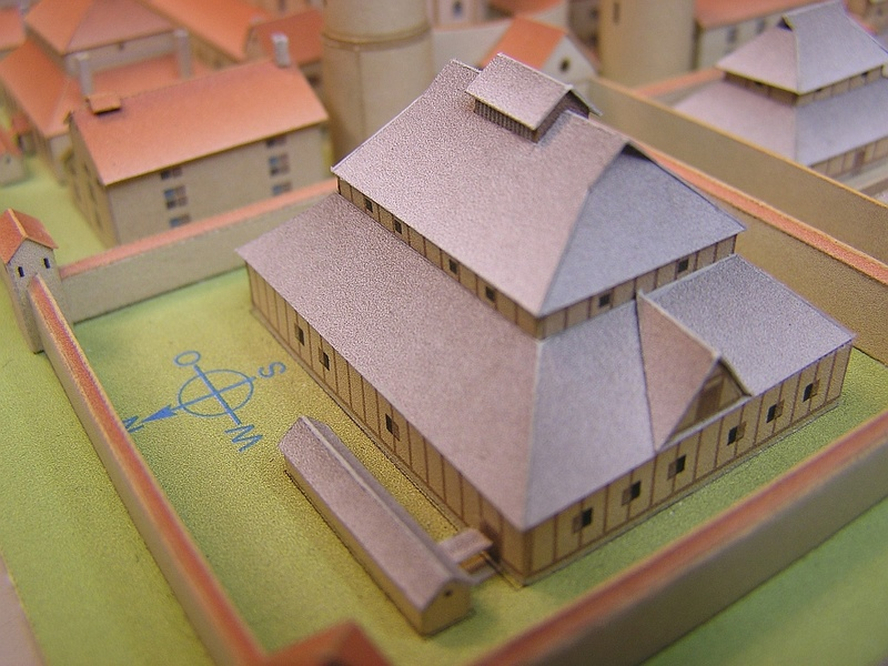 Monasterium Sancti Galli - Hans-Joachim Zimmer - 1:800 - Seite 2 213