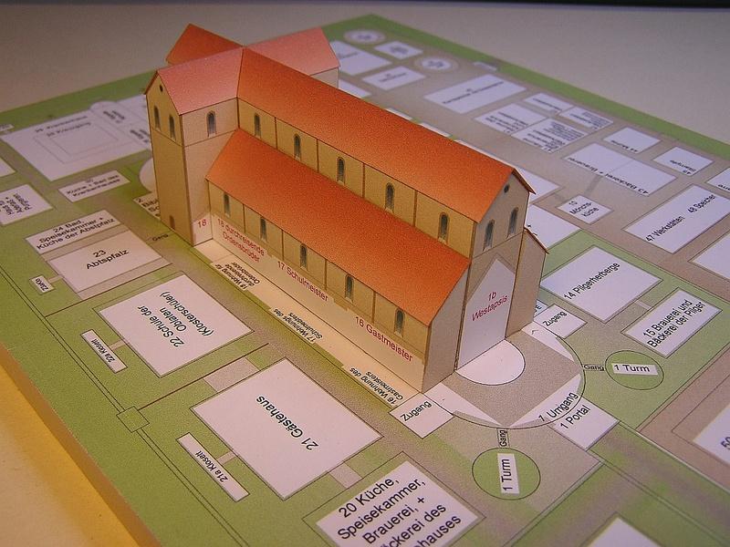 Monasterium Sancti Galli - Hans-Joachim Zimmer - 1:800 2410
