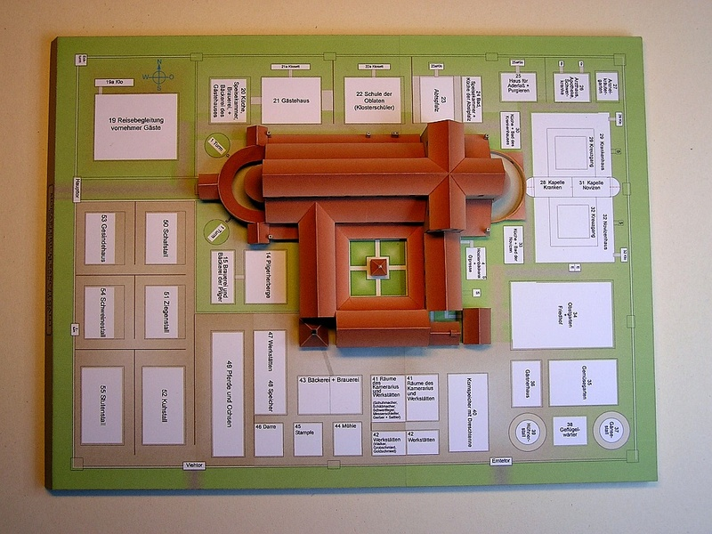 Monasterium Sancti Galli - Hans-Joachim Zimmer - 1:800 2910