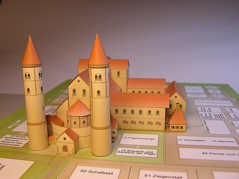 Monasterium Sancti Galli - Hans-Joachim Zimmer - 1:800 3910