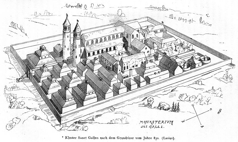 Monasterium Sancti Galli - Hans-Joachim Zimmer - 1:800 800px-10