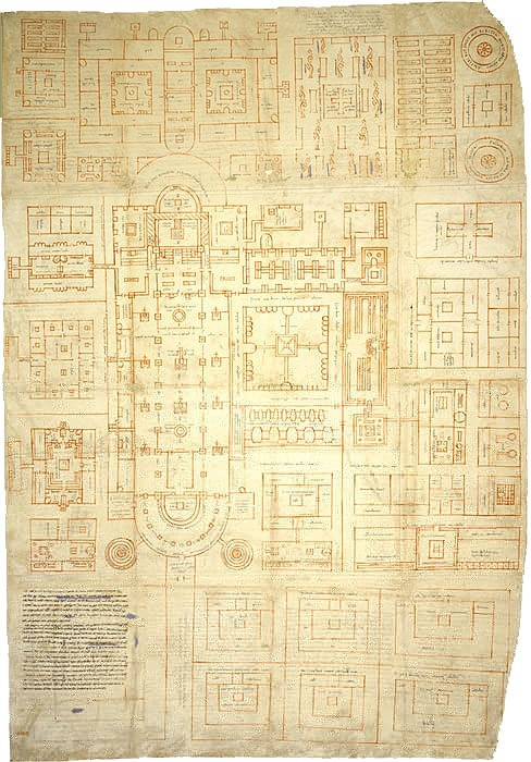 Monasterium Sancti Galli - Hans-Joachim Zimmer - 1:800 Sankt_10