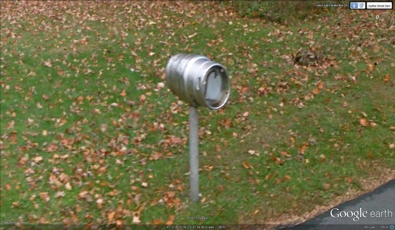 Street View : Les boites aux lettres insolites - Page 4 Bierre10