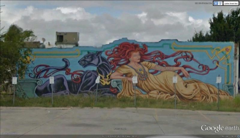 STREET VIEW : les fresques murales - MONDE (hors France) - Page 22 Fresqu11