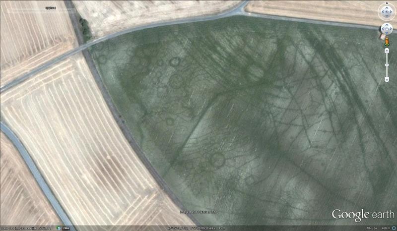Archéologie aérienne  Gaule10