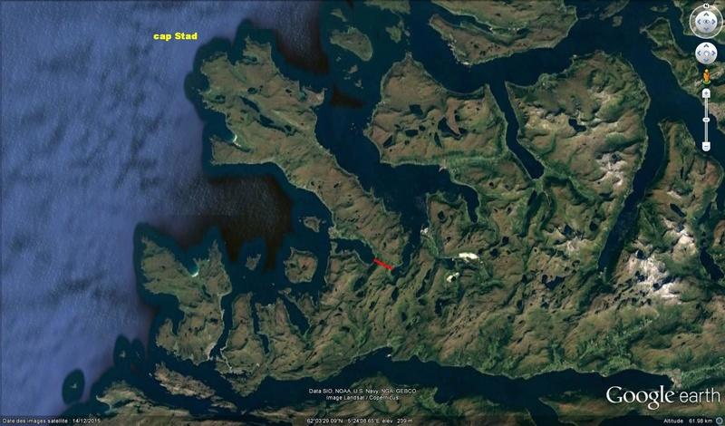 ( bientôt visible sur GE ) le tunnel à paquebots de Stad Norvège Tunel10
