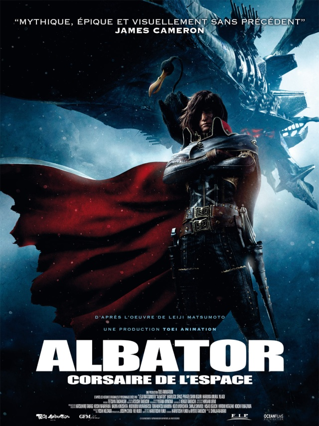 Space Pirate Captain Harlock Affich11