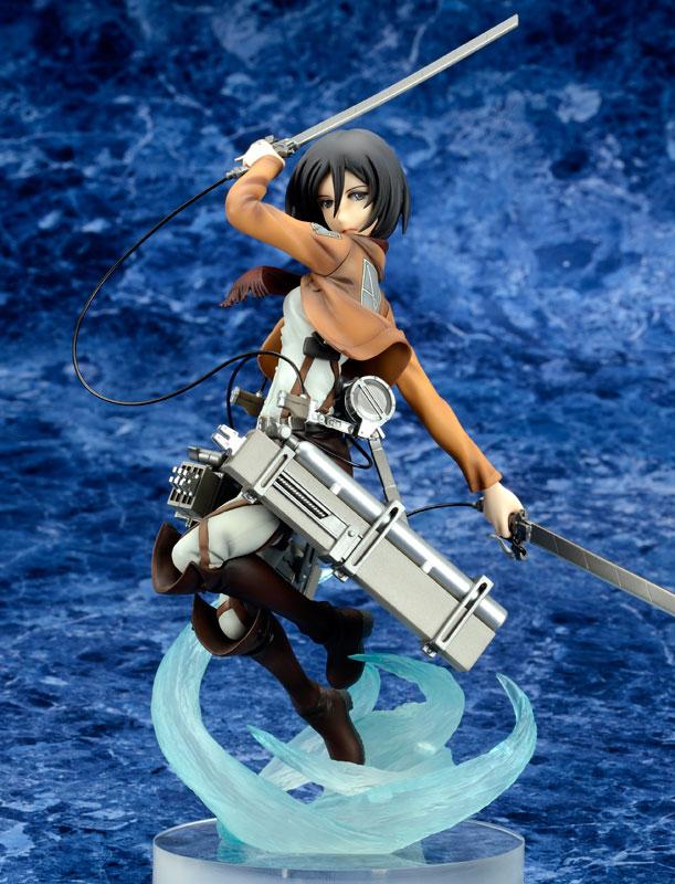 [Figurine] ques Q - Mikasa Ackerman 1/8 Complete Figure (Attaque des titans) Figur117