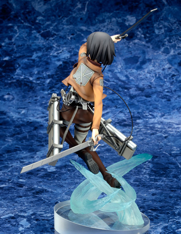 [Figurine] ques Q - Mikasa Ackerman 1/8 Complete Figure (Attaque des titans) Figur118