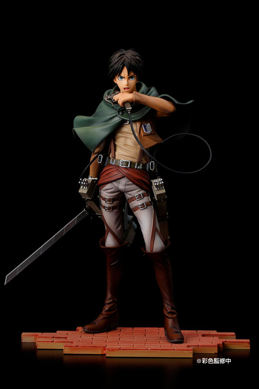 [Figurine] BRAVE-ACT - Eren Yeager (Cleaning Edition) 1/8 Complete Figure (Attaque des titans) Figur129