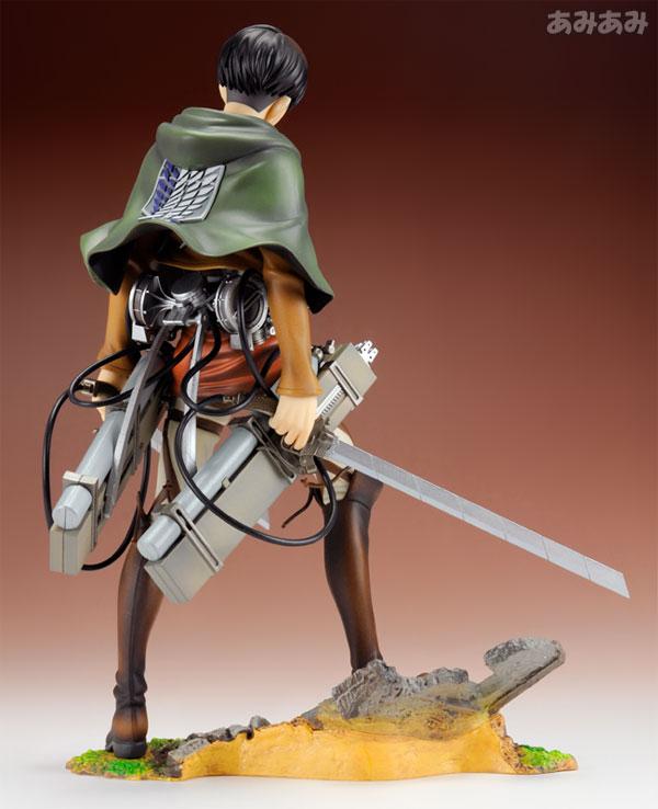 [Figurine] BRAVE-ACT - Levi (Cleaning Edition) 1/8 Complete Figure (Attaque des titans) Figur132