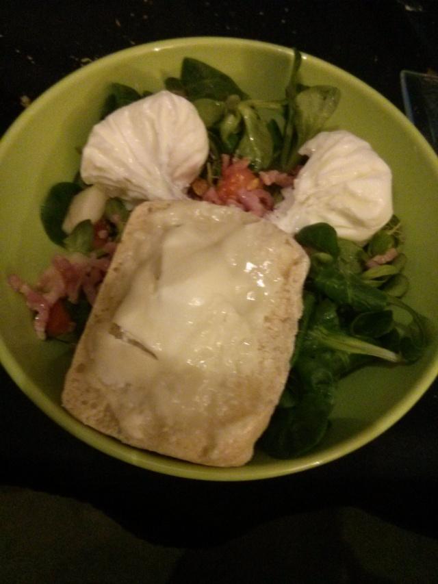 [Entrée] Salade de chèvre chaud Img_2011