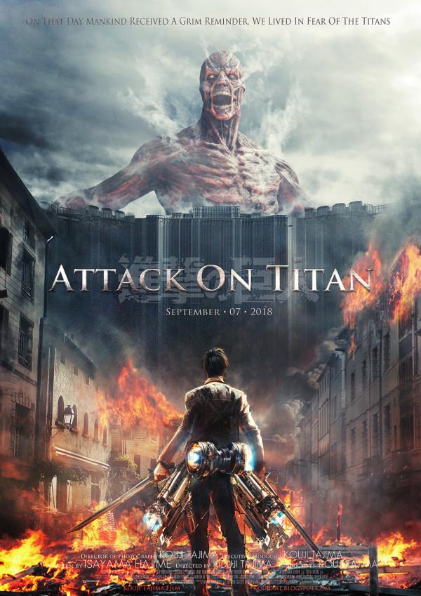 Attaque des titans adapté en film live pour 2015 Shinge20
