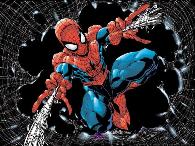 Les super-héros [Baka'Dossier] Spider10