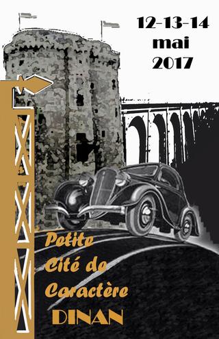6ème Petite Cité de Caractère - 12 au 14 Mai 2017. Affich12