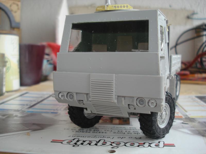 camion usa M1083 MTV [Trumpeter, 1/35] cabine blindée  Dsc08210