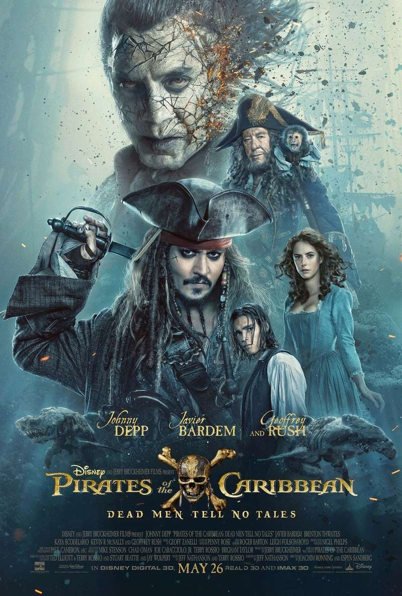 Pirates of The Caribbean: Dead Men Tell No Tales 17015810