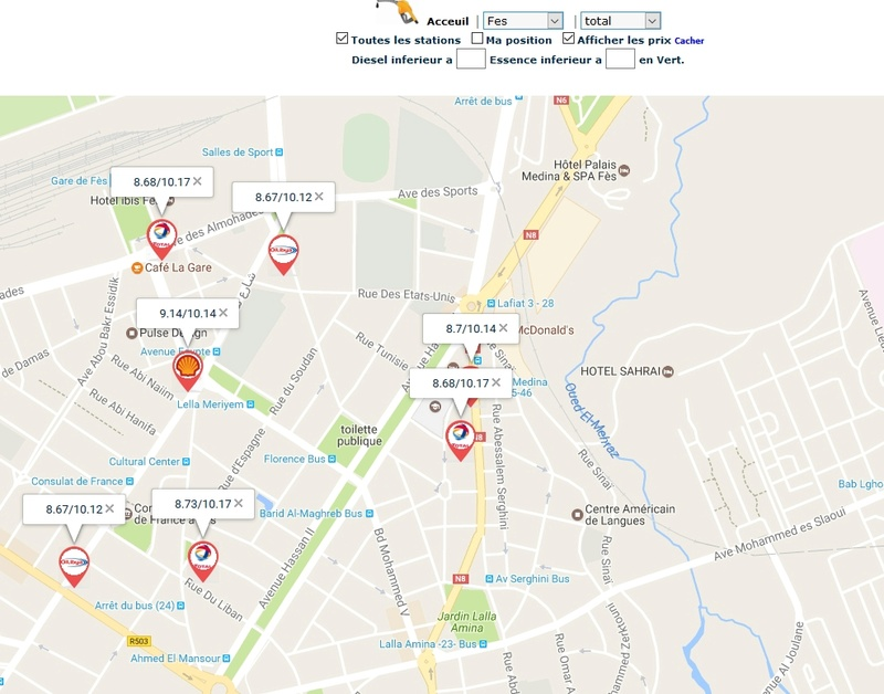[Carburant, Routes, Police] comparateur de carburant  Prix_g10