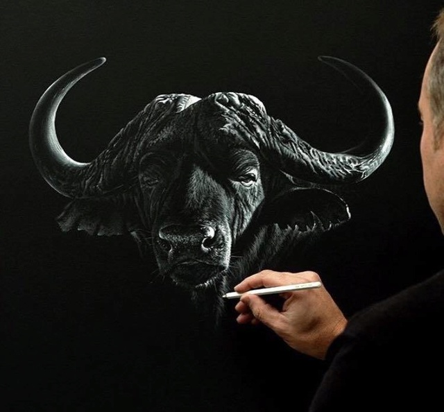 LES PEINTURES ANIMALIERES DE RICHARD SYMONDS Richar12