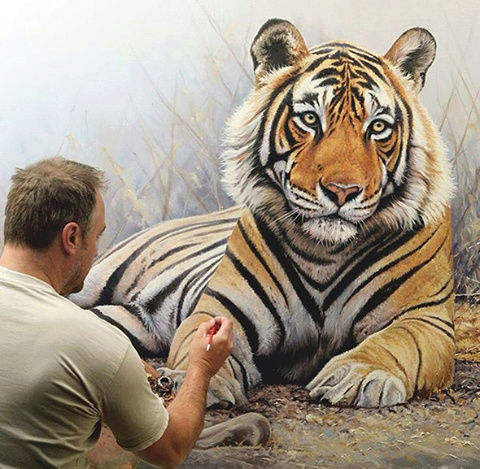 LES PEINTURES ANIMALIERES DE RICHARD SYMONDS Tumblr11