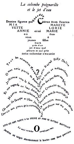 La colombe poignardée et le jet d'eau - Guillaume Apollinaire La_col10