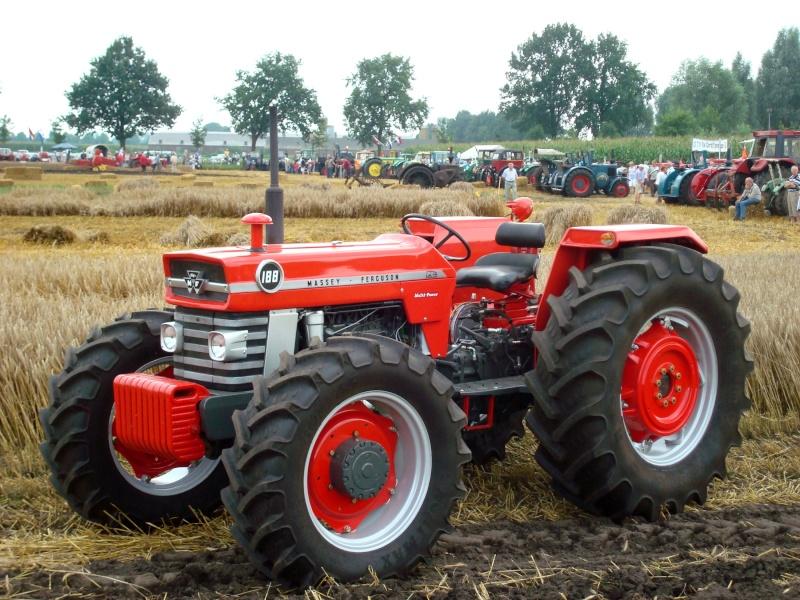 Petits tracteurs 4 roues motrices Mf188-10