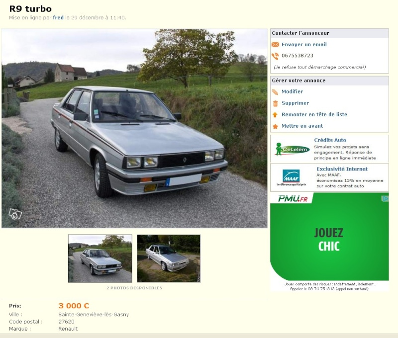 WANTED: Renault 9 Turbo Phase 2 2014-083