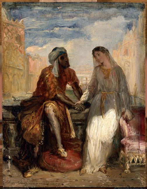Les héros shakespeariens dans la peinture 01-02110