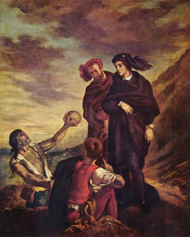 Les héros shakespeariens dans la peinture Eugc3a10