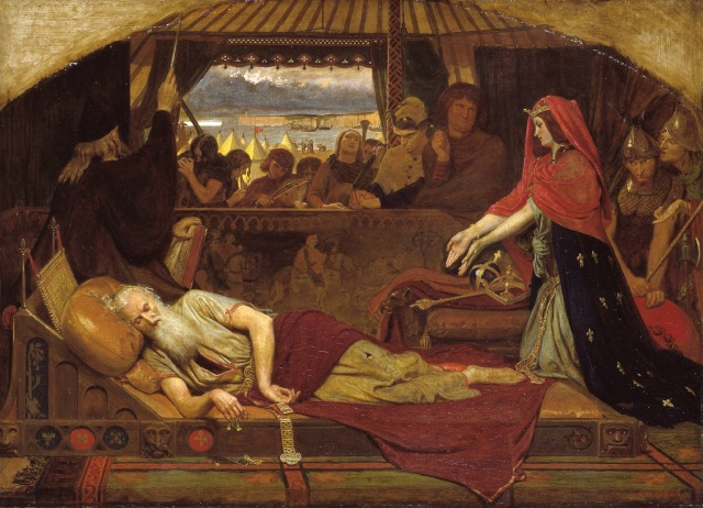 Les héros shakespeariens dans la peinture N0306510