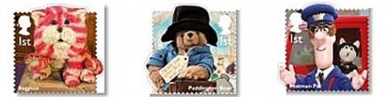 Des personnages célèbres de la télé jeunesse anglaise en timbres Stamps12