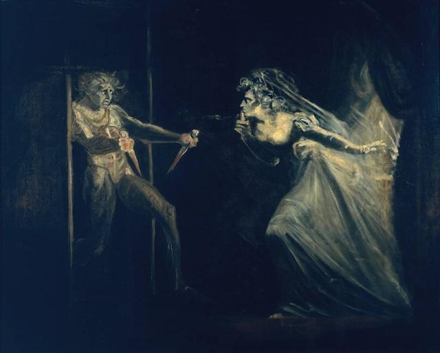 Les héros shakespeariens dans la peinture T0073310