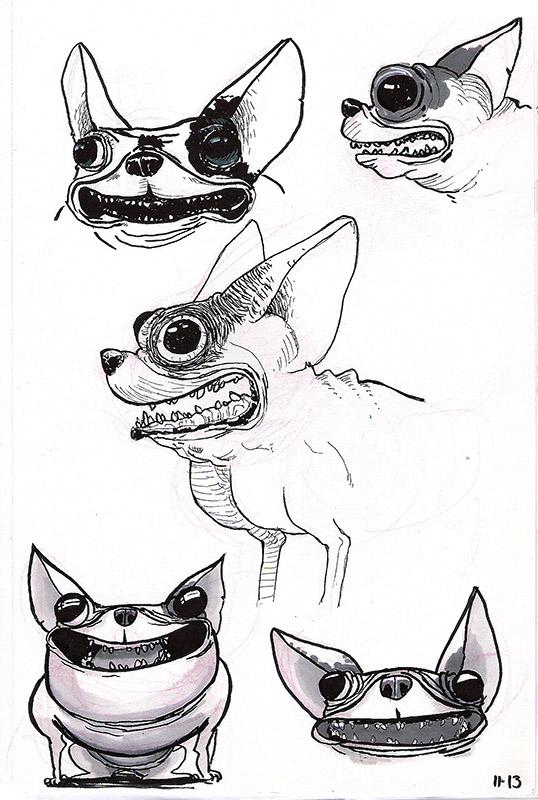 Gromy - Etudes et WIP - Page 5 Animal10