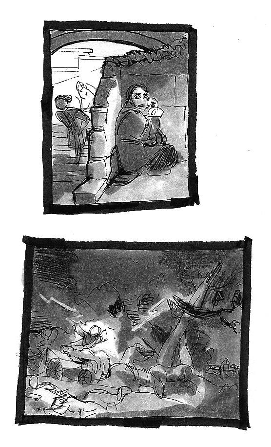 Gromy - Etudes et WIP - Page 5 Croqui31