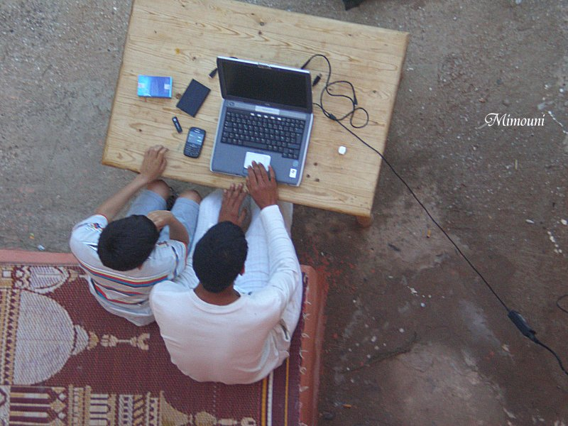 Mes photos de vacances : landing succes in Ouled mimoune Mimoun20
