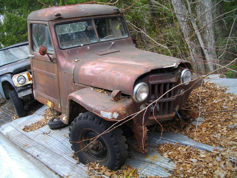 Jeep willys puck-up de 1950 a 1955 Willys13