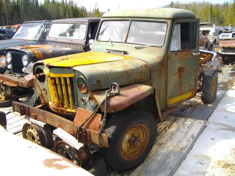 Jeep willys puck-up de 1950 a 1955 Willys14