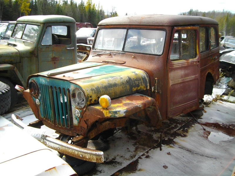 Jeep willys puck-up de 1950 a 1955 Willys15