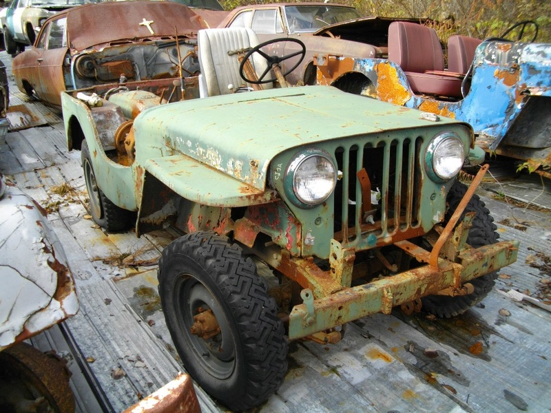 Jeep willys puck-up de 1950 a 1955 Willys16